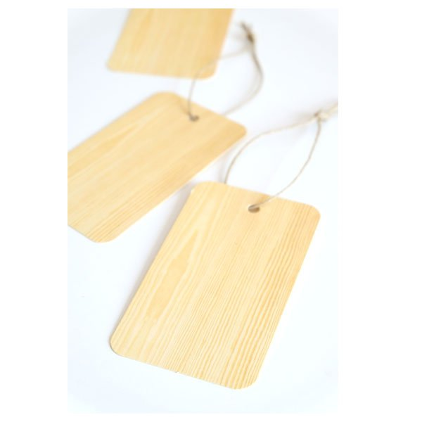 Label gifttags oak